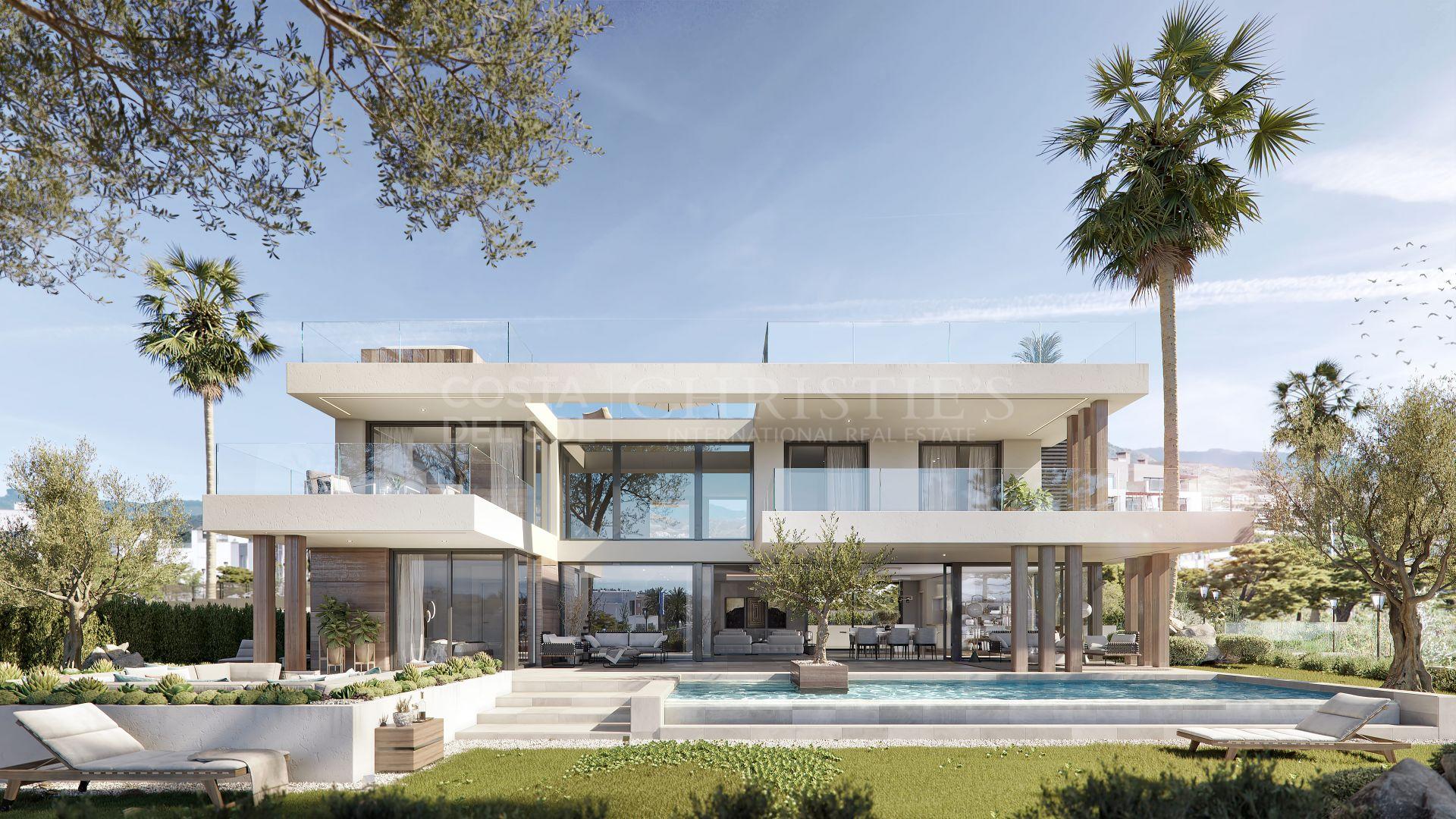 Villa Silk with privileged location in New Golden Mile, Estepona   Christie's International Real Estate