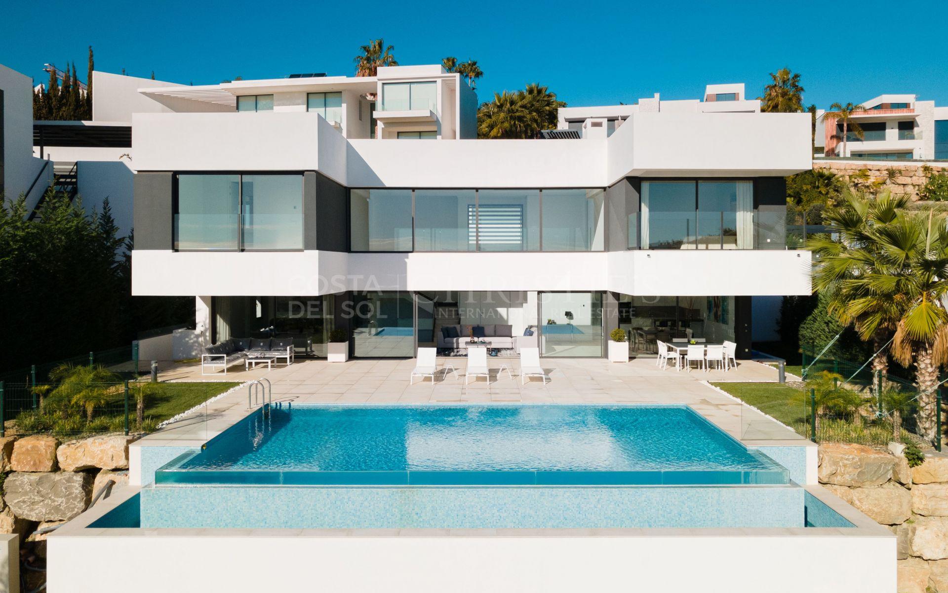 Eye-catching Villa in La Alqueria, Benahavis | Christie's International Real Estate