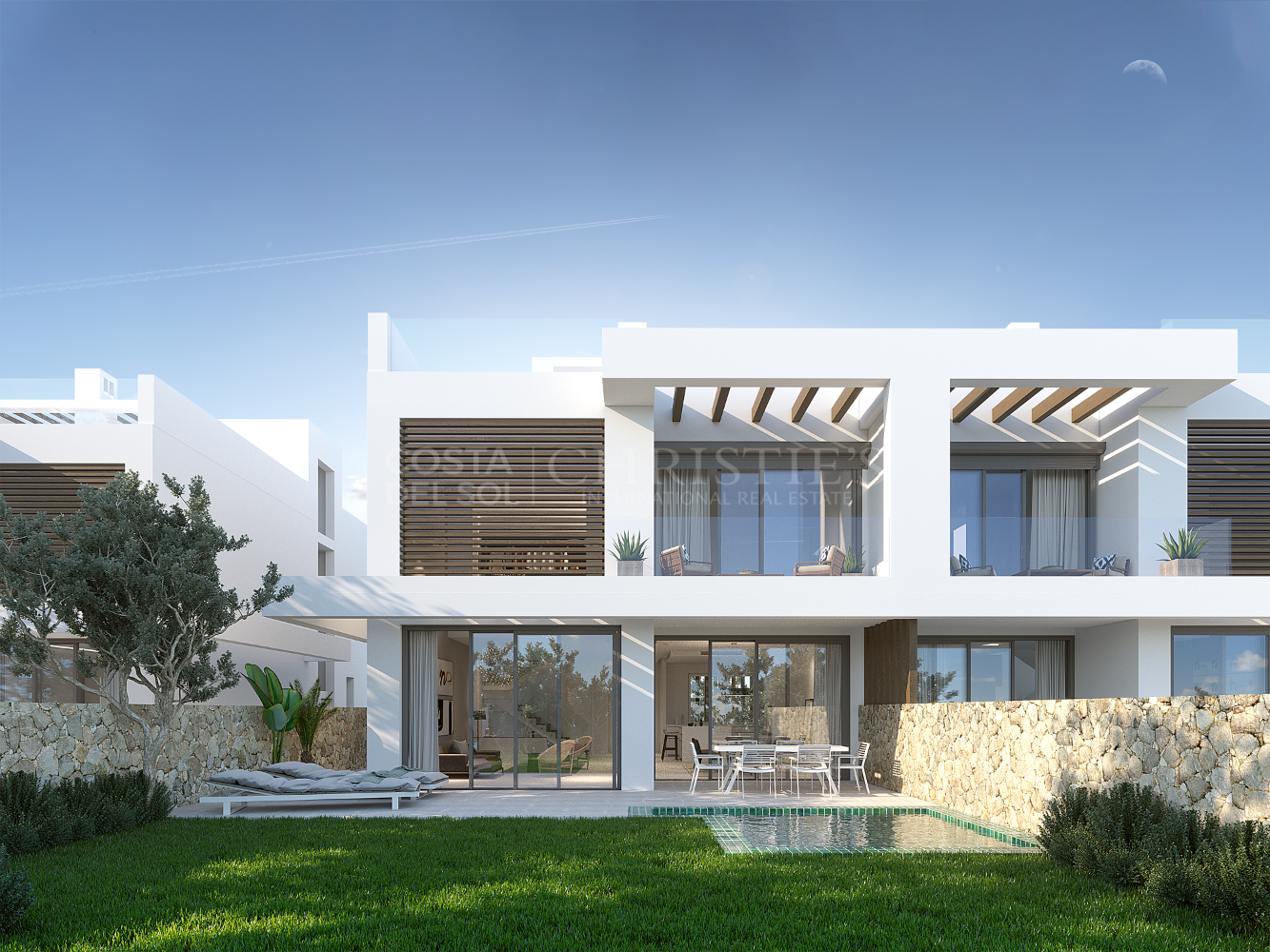 Villa under construction in Cabopino. | Christie's International Real Estate