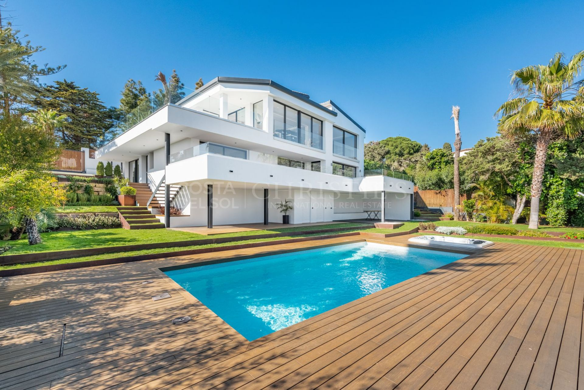 Wonderful villa with panoramic views in Marbella   Christie's International Real Estate