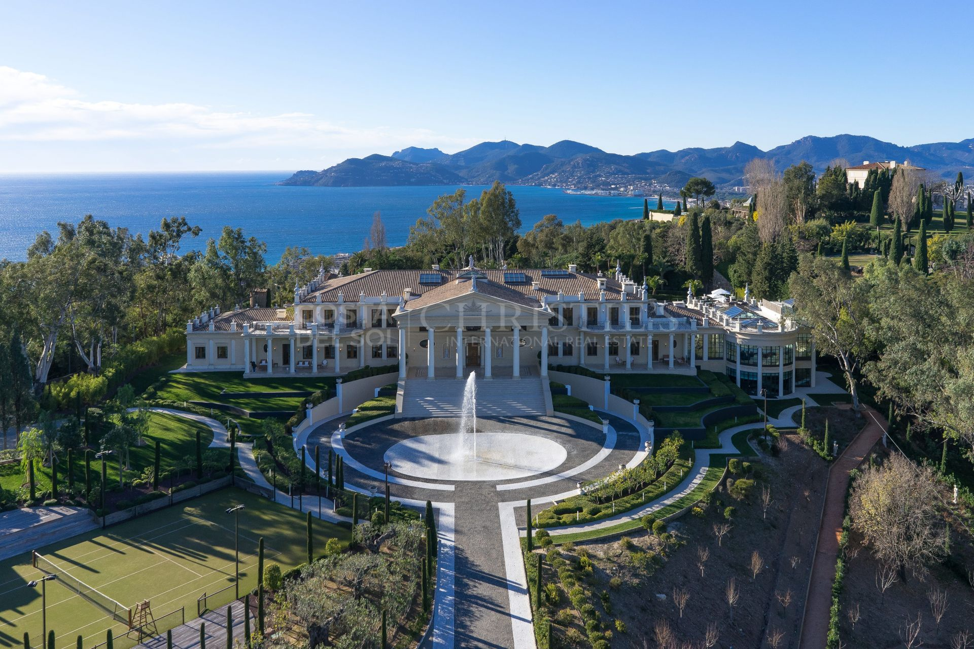 Breathtaking Venetian palace in Cannes, France   Christie's International Real Estate