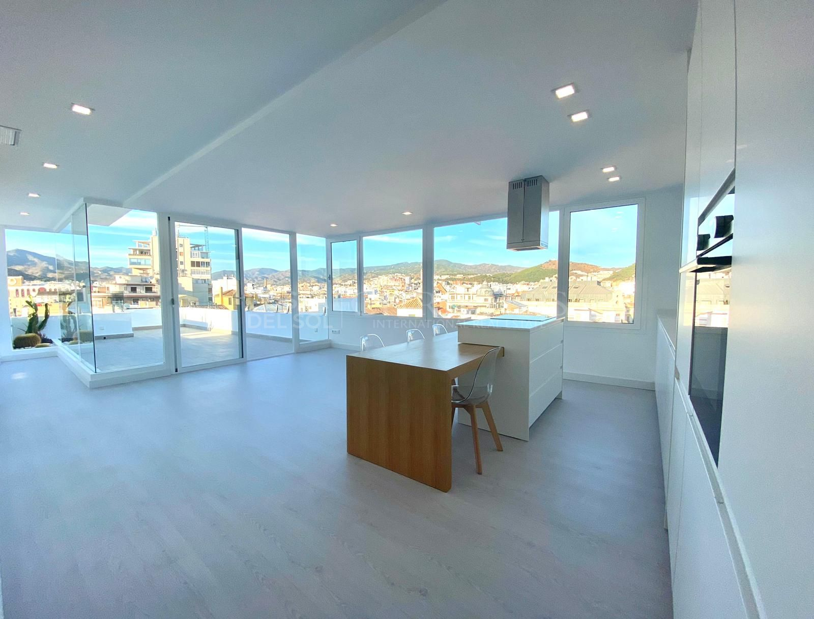 Fully renovated penthouse in Malaga´s Historic Center | Christie's International Real Estate