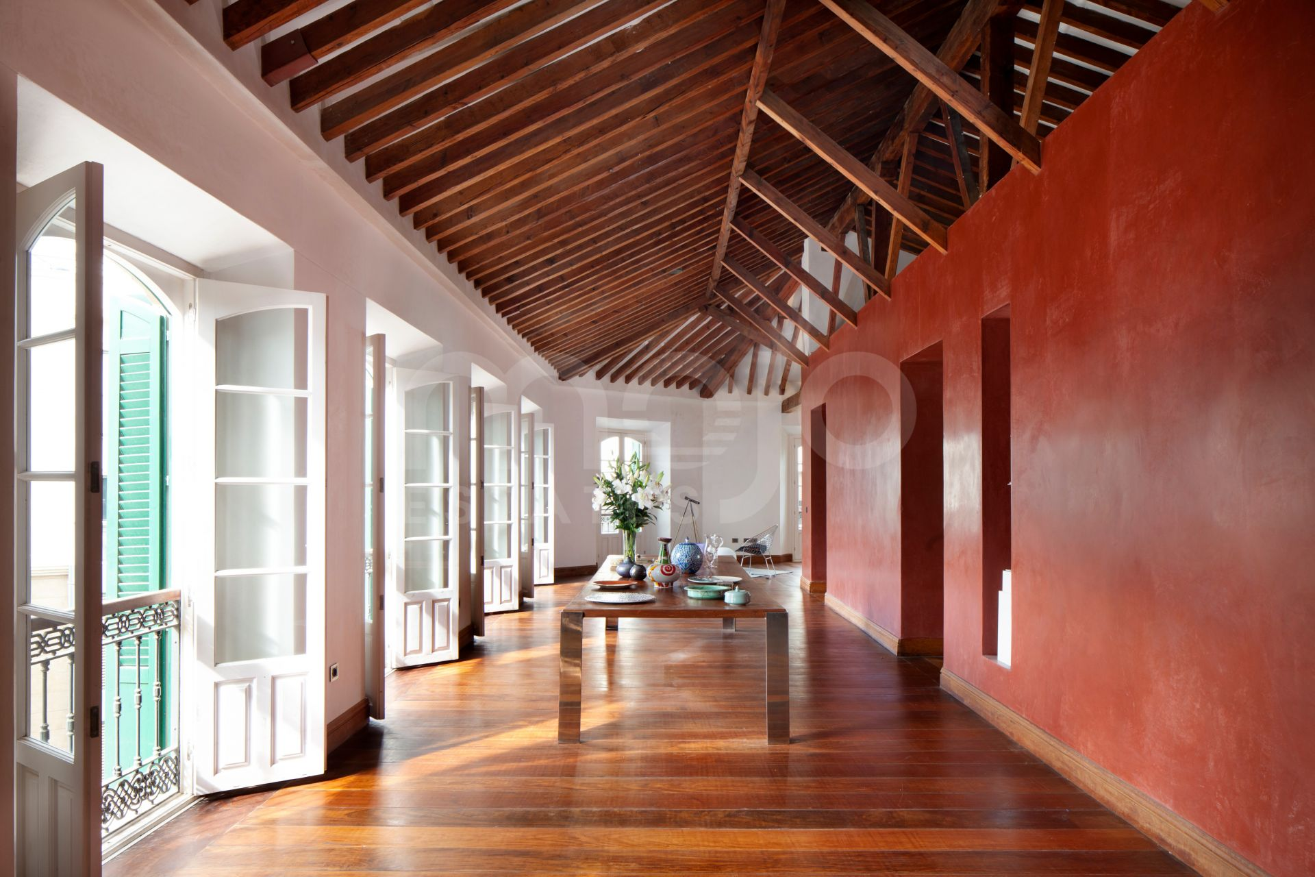 Exclusief penthouse in het hart van het historische centrum van Malaga