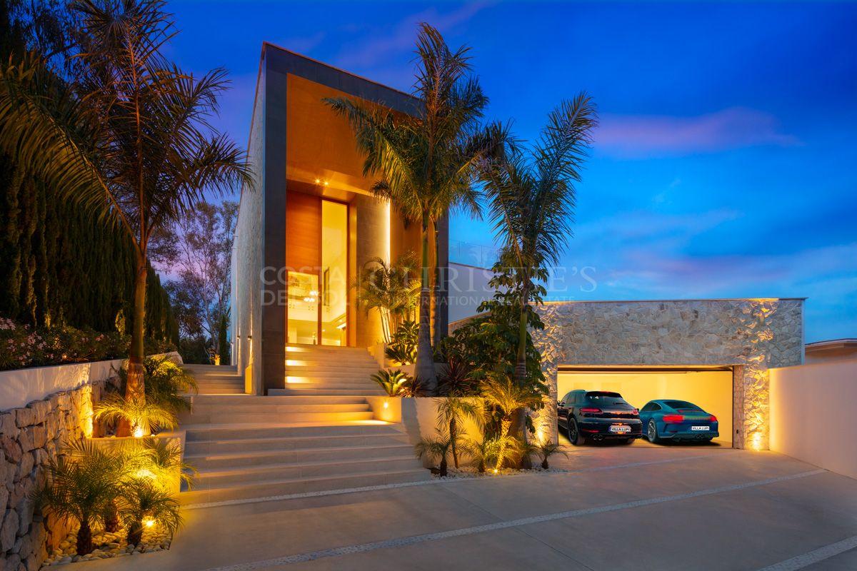 Stunning villa in El Herrojo, Benahavís   Christie's International Real Estate