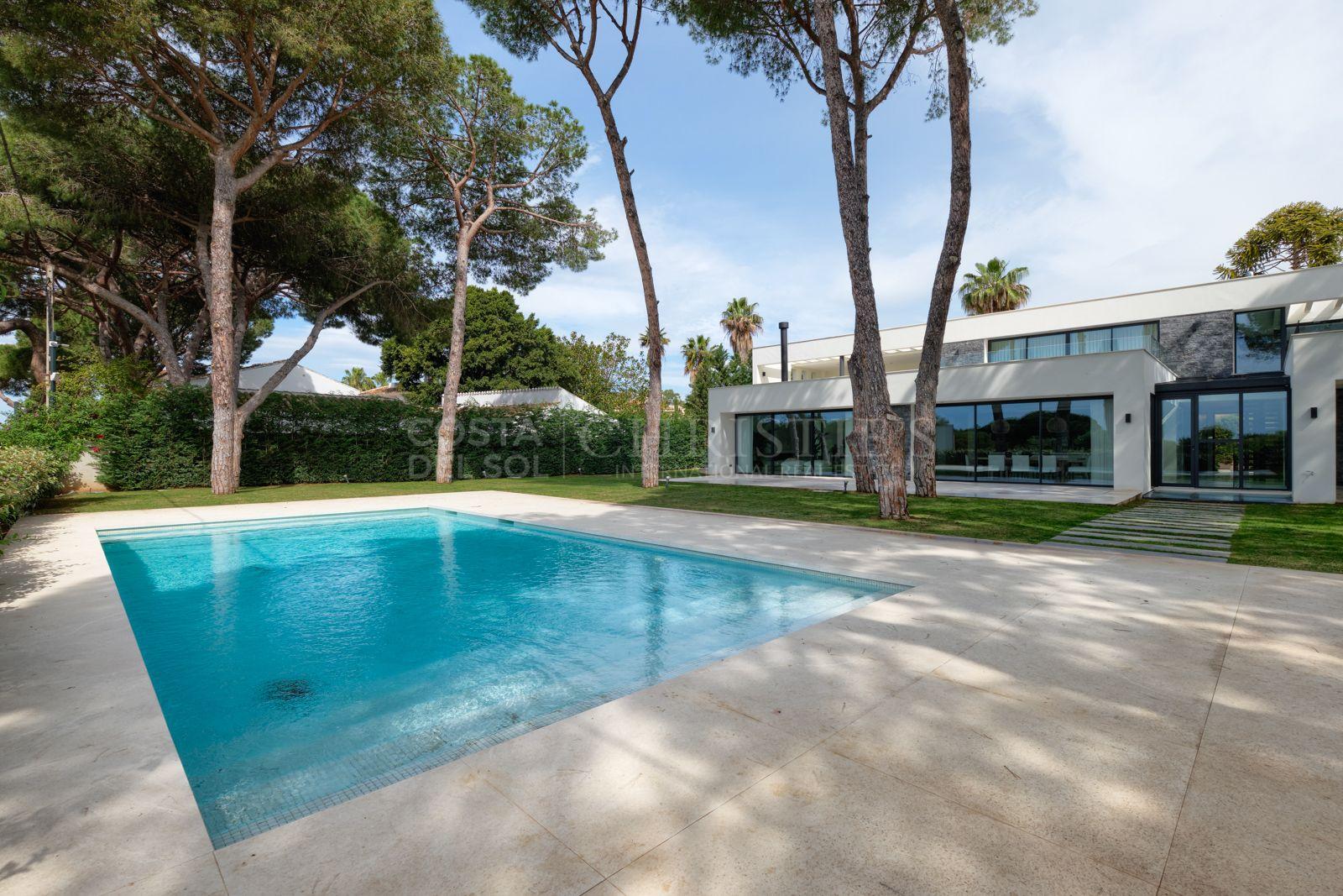 Frontline Beach Villa, Cabopino, Marbella | Christie's International Real Estate