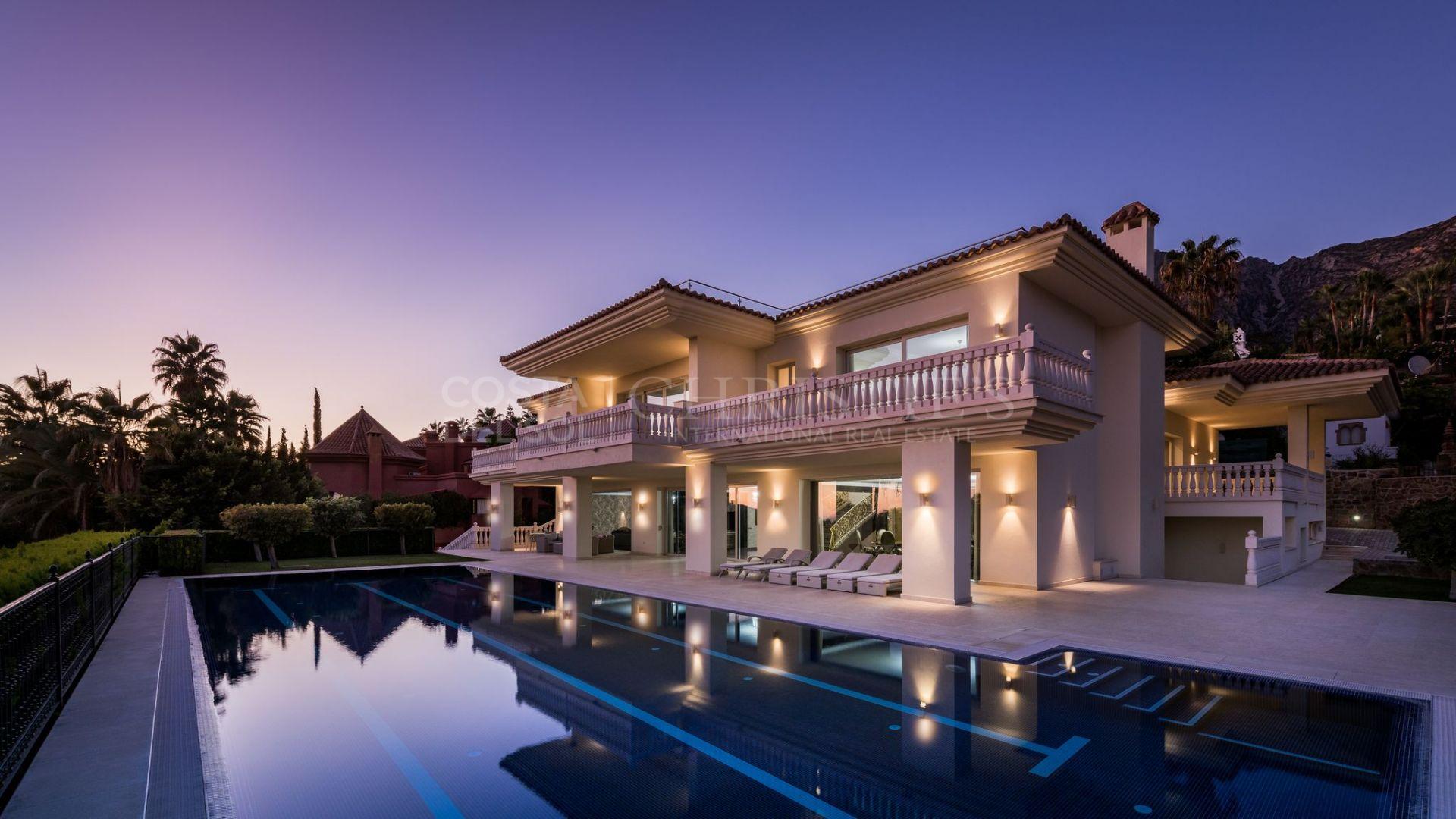 Incredible villa in Sierra Blanca, Marbella Golden Mile | Christie's International Real Estate