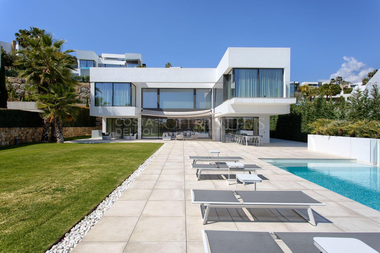Contemporary villa in La Alquería, Benahavís | Christie's International Real Estate