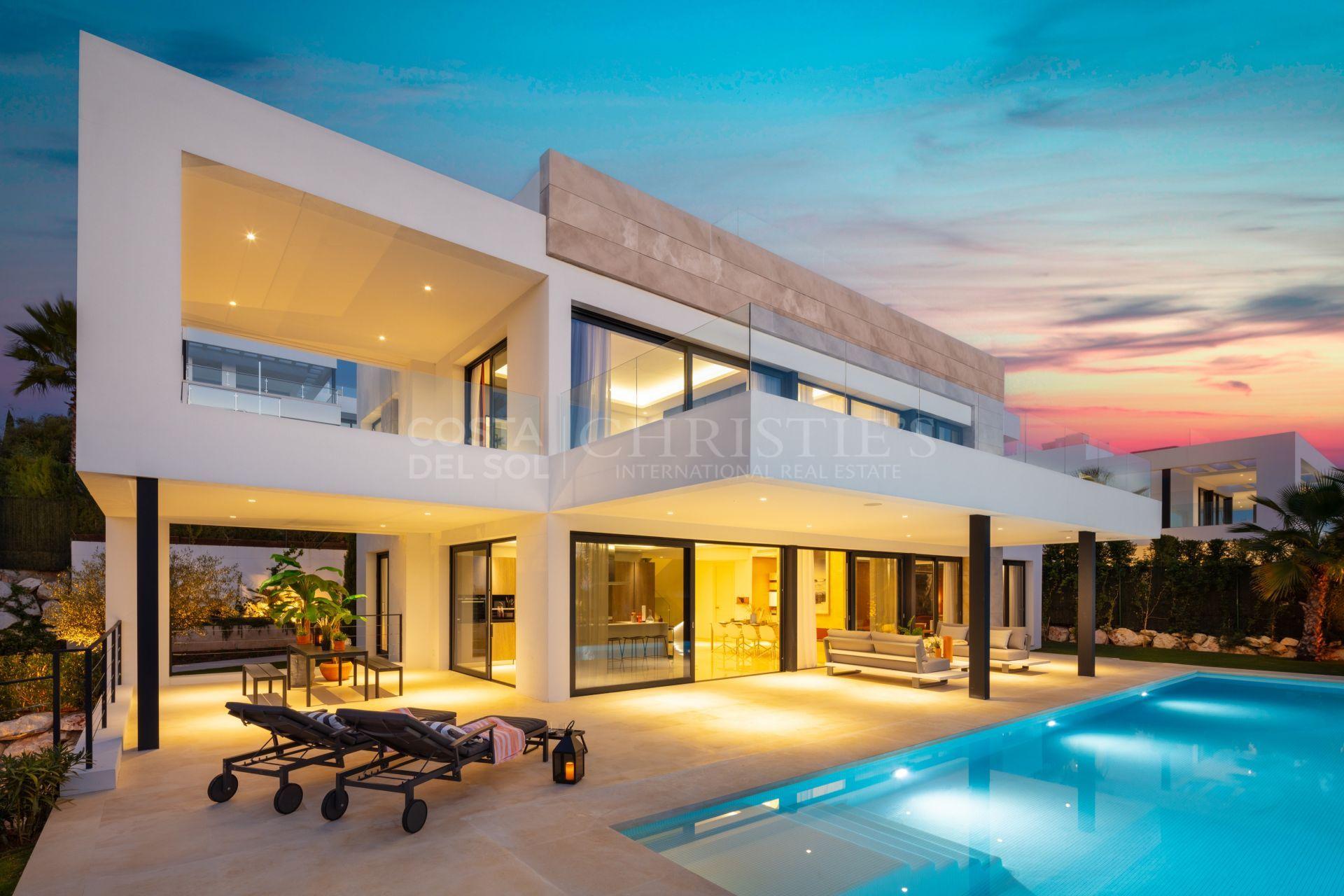 Elegant villa 14 in Los Olivos, Nueva Andalucia | Christie's International Real Estate