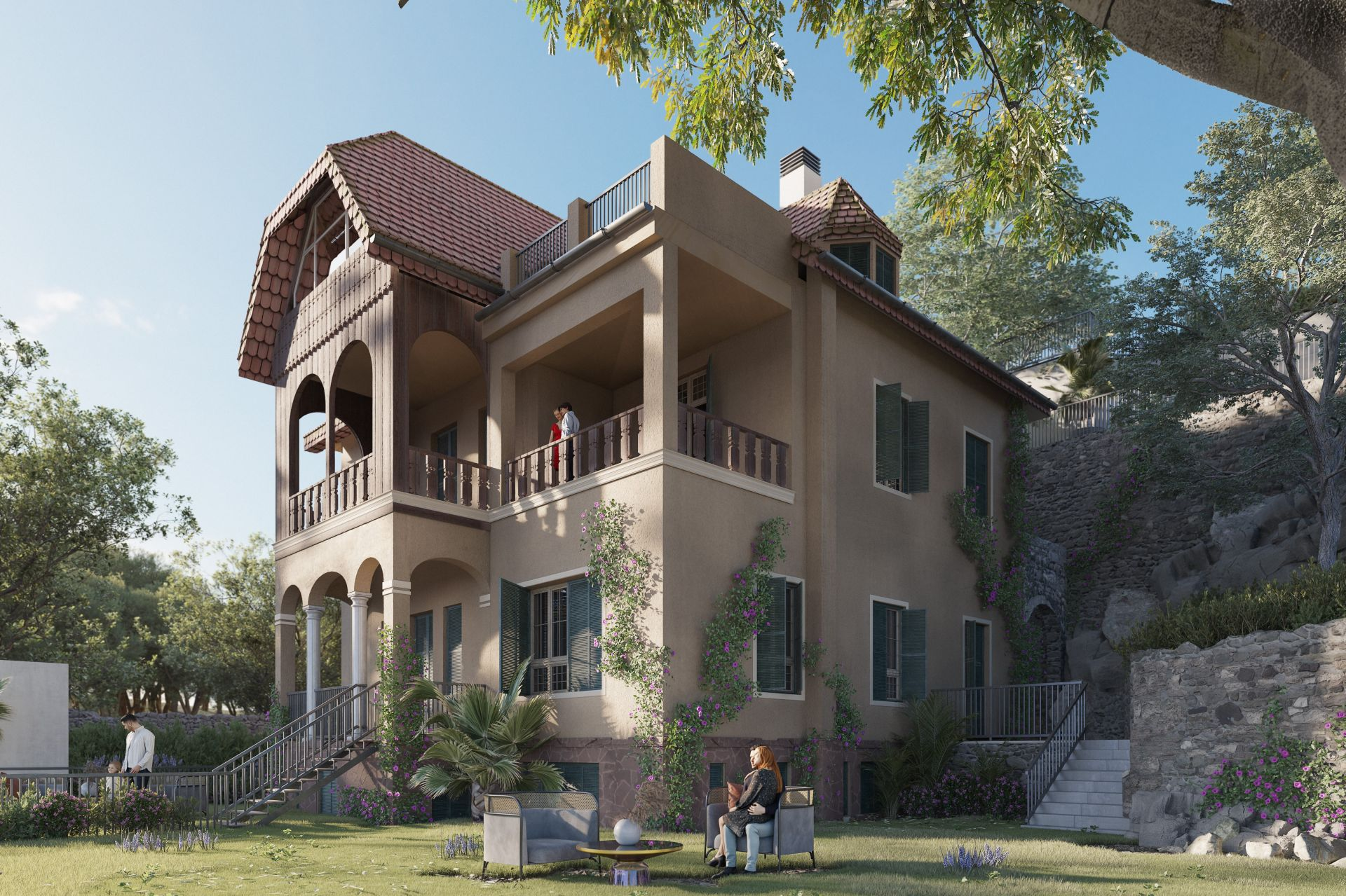 Monte Sancha 14, El Limonar, Malaga - Este - 4 exclusive homes in a 1905 Villa | Christie's International Real Estate