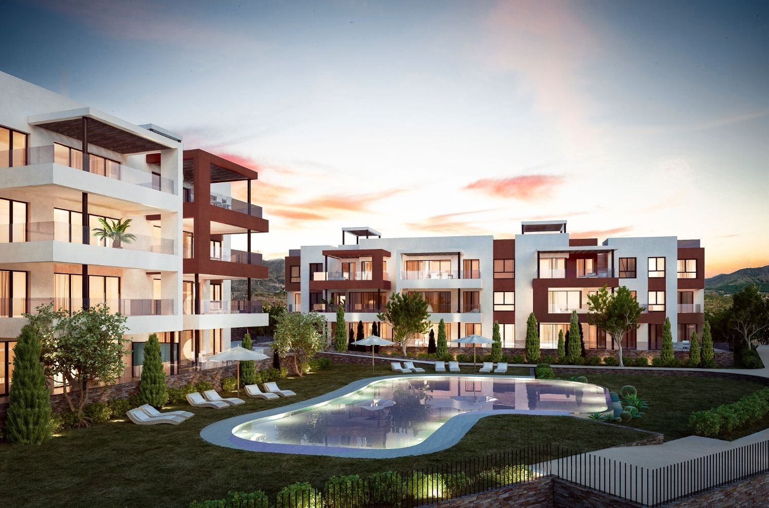 Middle Views, Carvajal, Fuengirola - Middel Views is a new construction development in Fuengirola. | Christie's International Real Estate