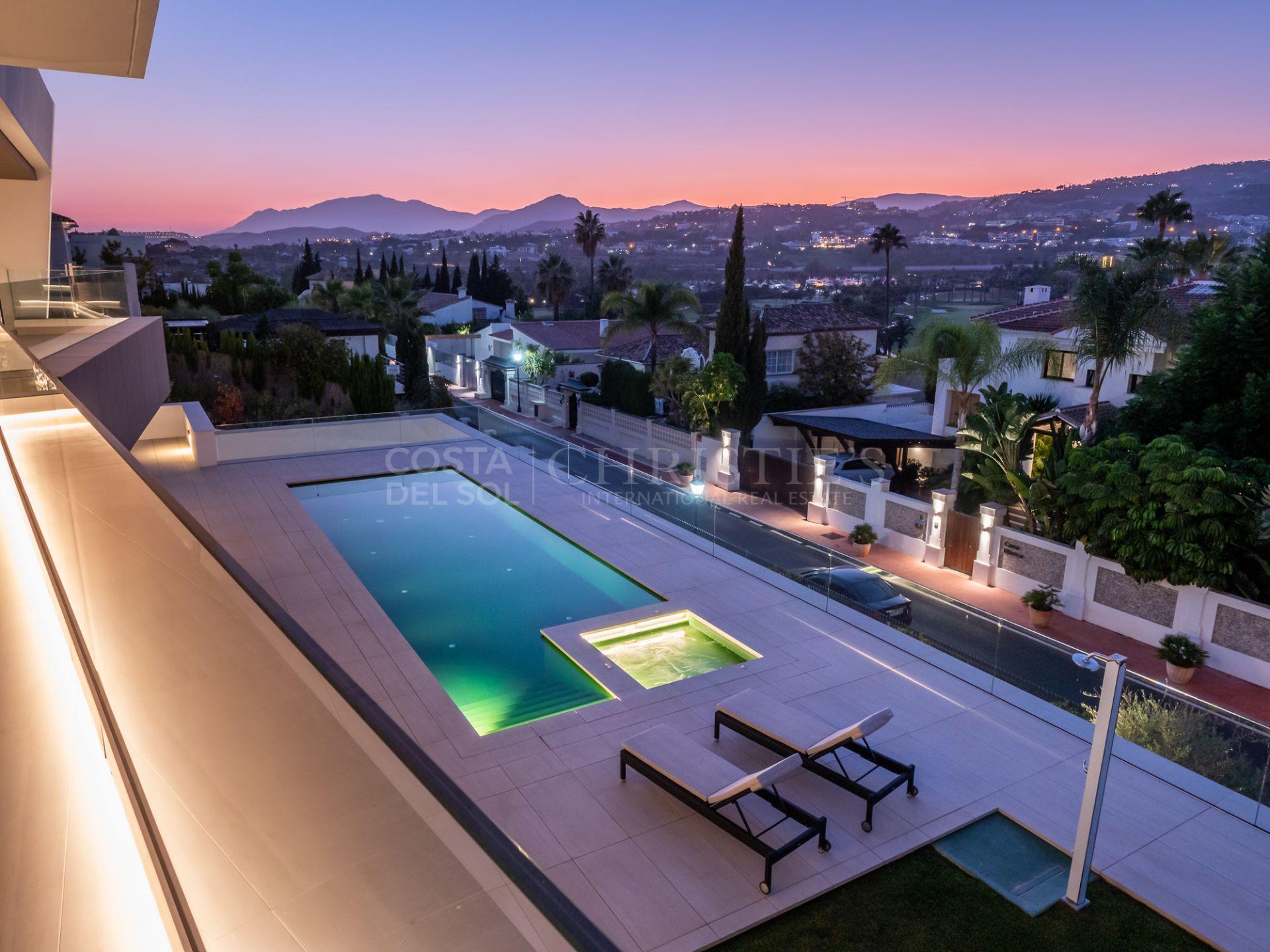 Spectacular modern luxury villa, Marbella | Christie's International Real Estate