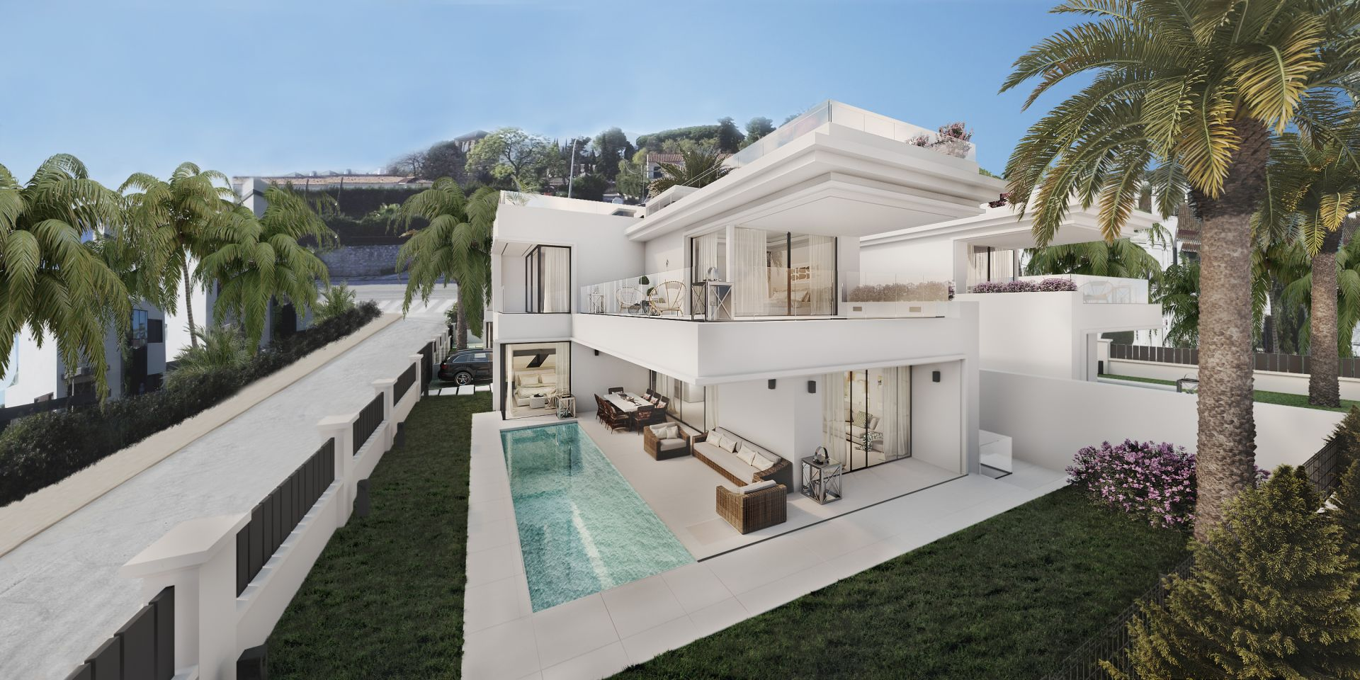 Modern Villas closed to Puerto Banús | Christie's International Real Estate
