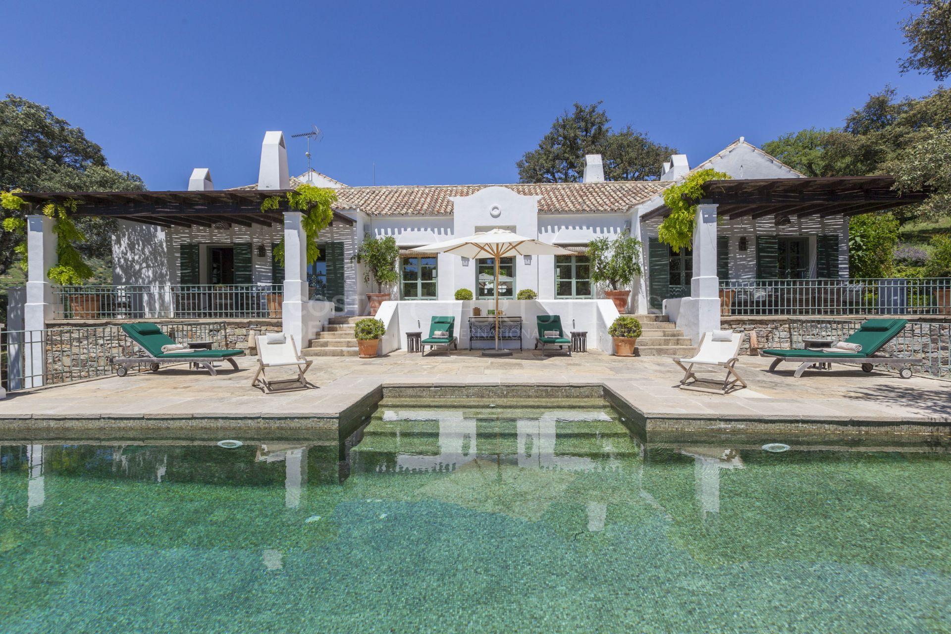 Amazing Cortijo del Moro, in Cortes de la Frontera, Málaga   Christie's International Real Estate