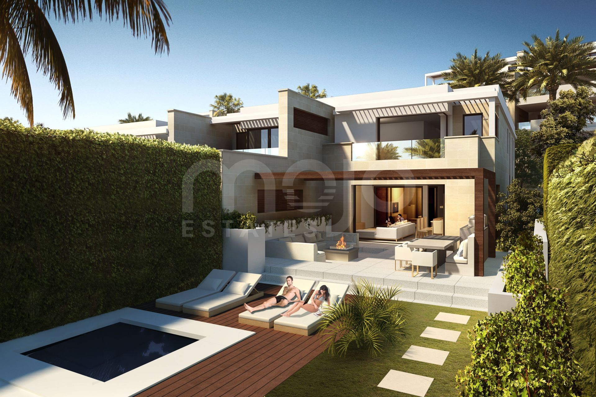 Bungalow te koop in New Golden Mile, Estepona