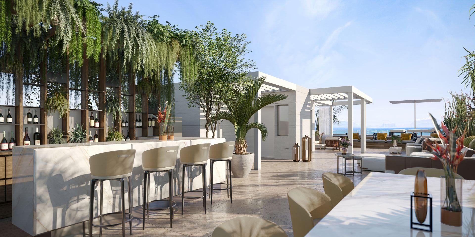 Penthouse in Marbella Golden Mile, Marbella