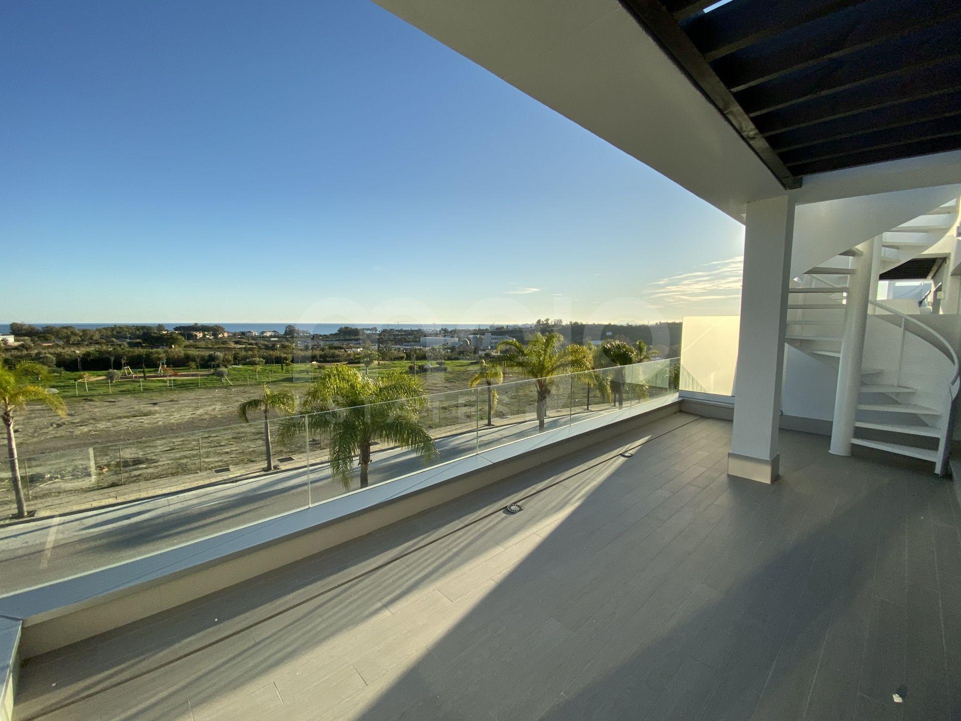 Duplex Penthouse til salg i Cancelada, Estepona