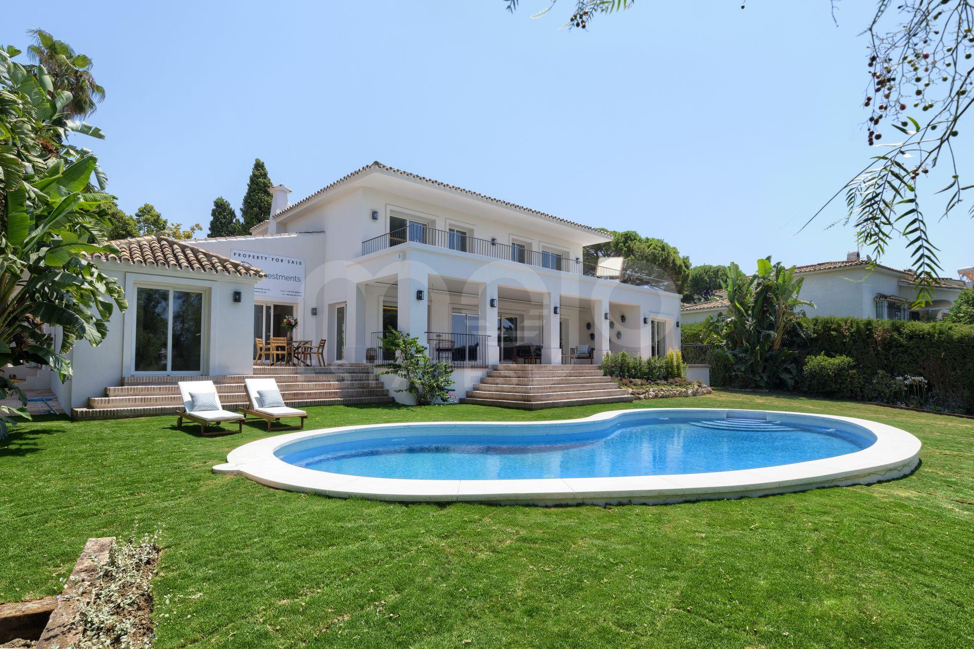 Villa til salg i Guadalmina Alta, San Pedro de Alcantara