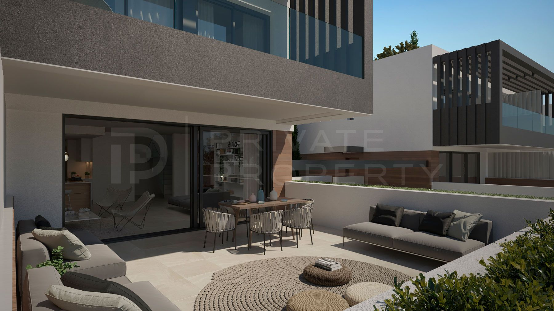 50 First Line Golf semi-detached villas. Located next to the Atalaya Golf Country Club