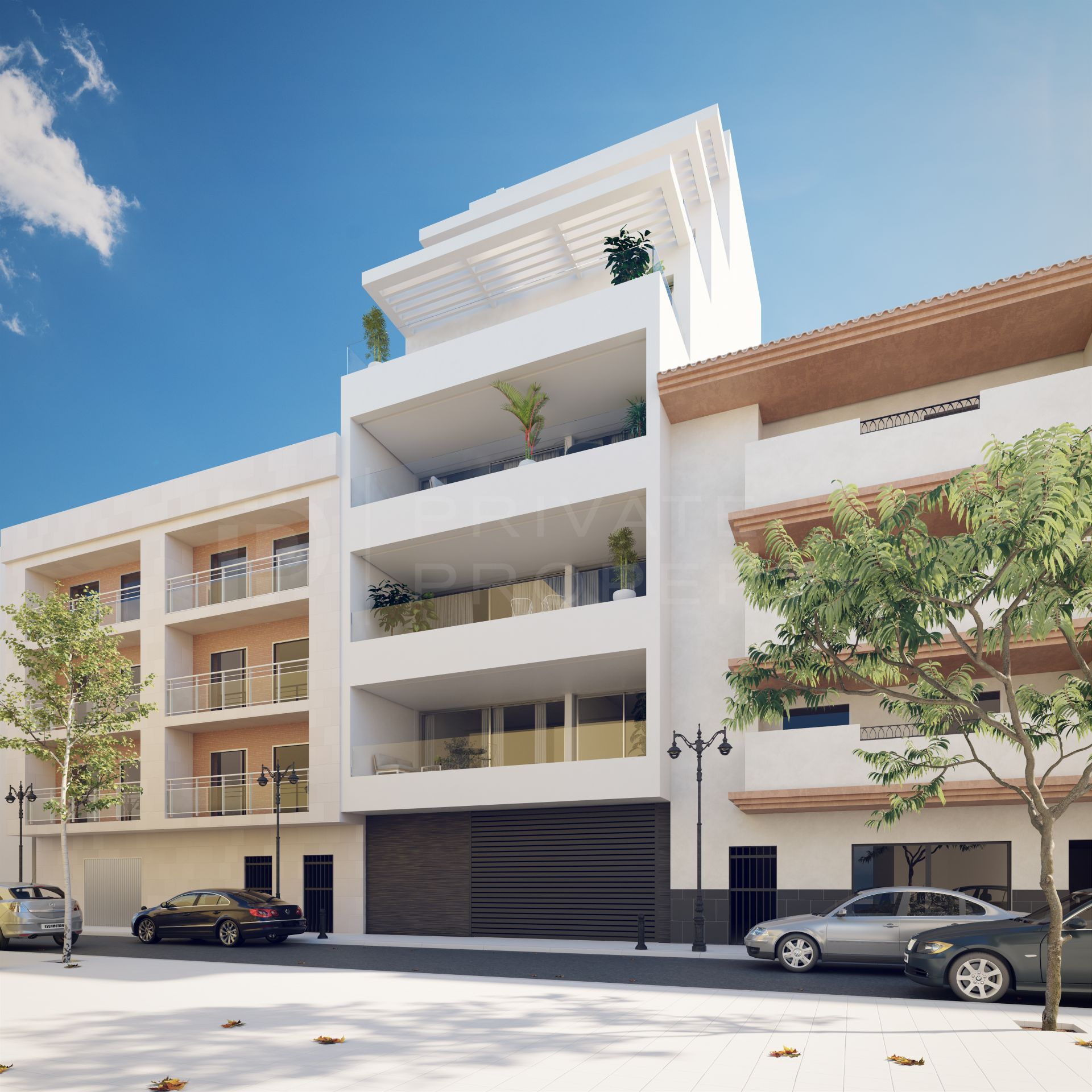 36 exclusive homes on sea front location, with spacious terraces that meet the requirements of the most demanding of clients.