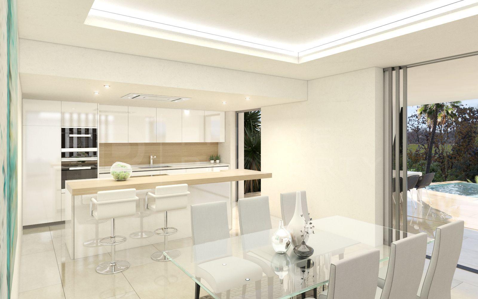 Stunning modern boutique development of detached villas on the New Golden Mile, Estepona