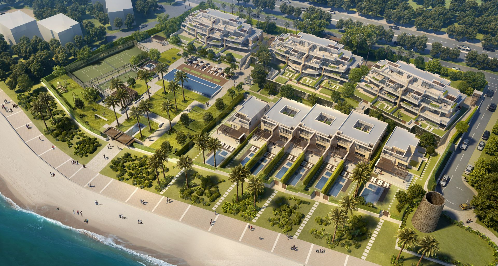 Velaya, beachfront apartments, penthouses and villas in the New Golden Mile
