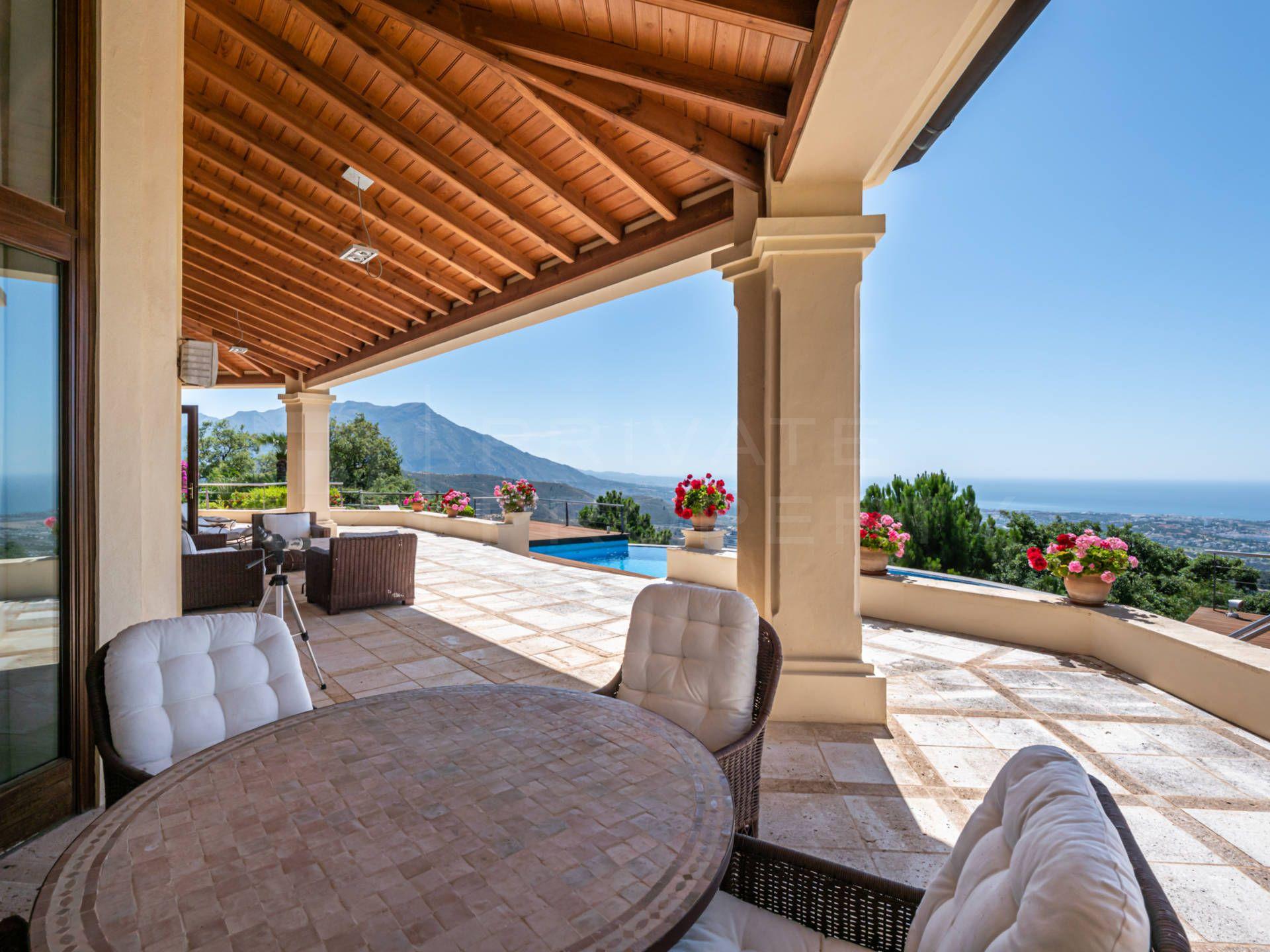 Panoramic views in La Zagaleta