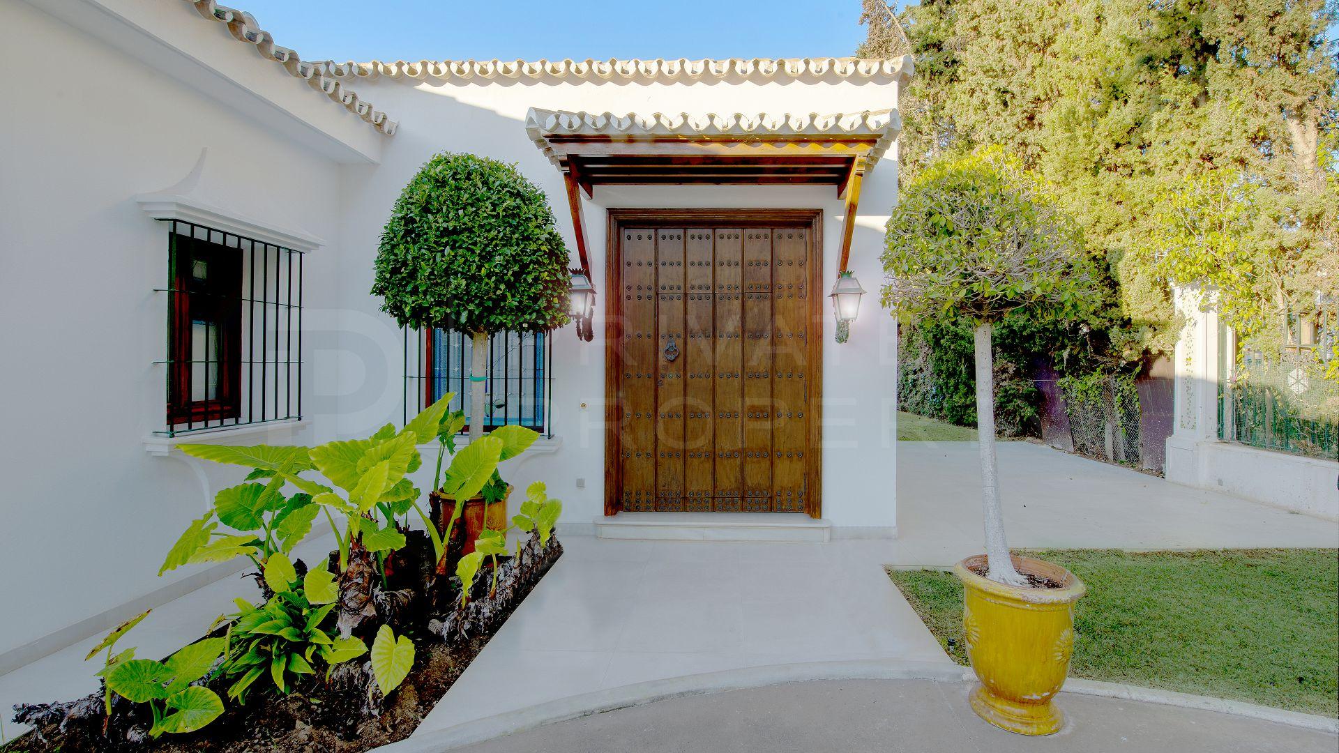 Great villa in Guadalmina Baja
