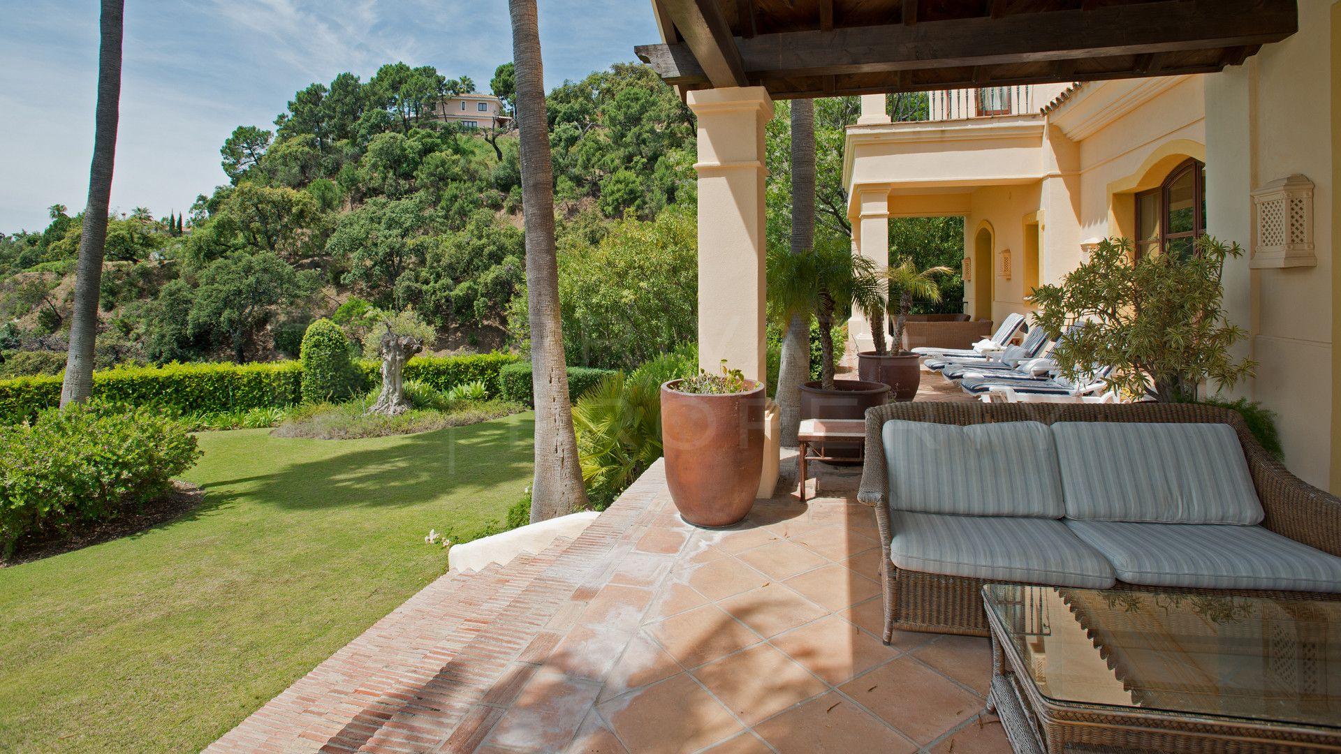 Villa for rent in La Zagaleta