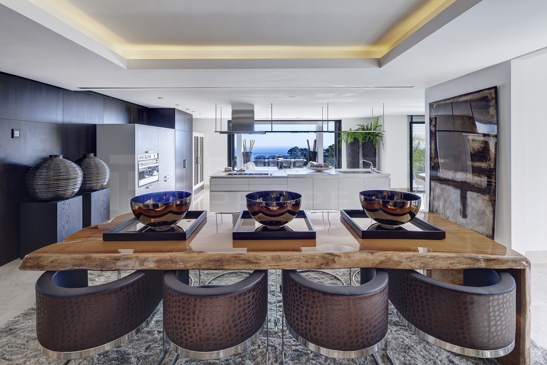 Modern villa for rent in La Zagaleta