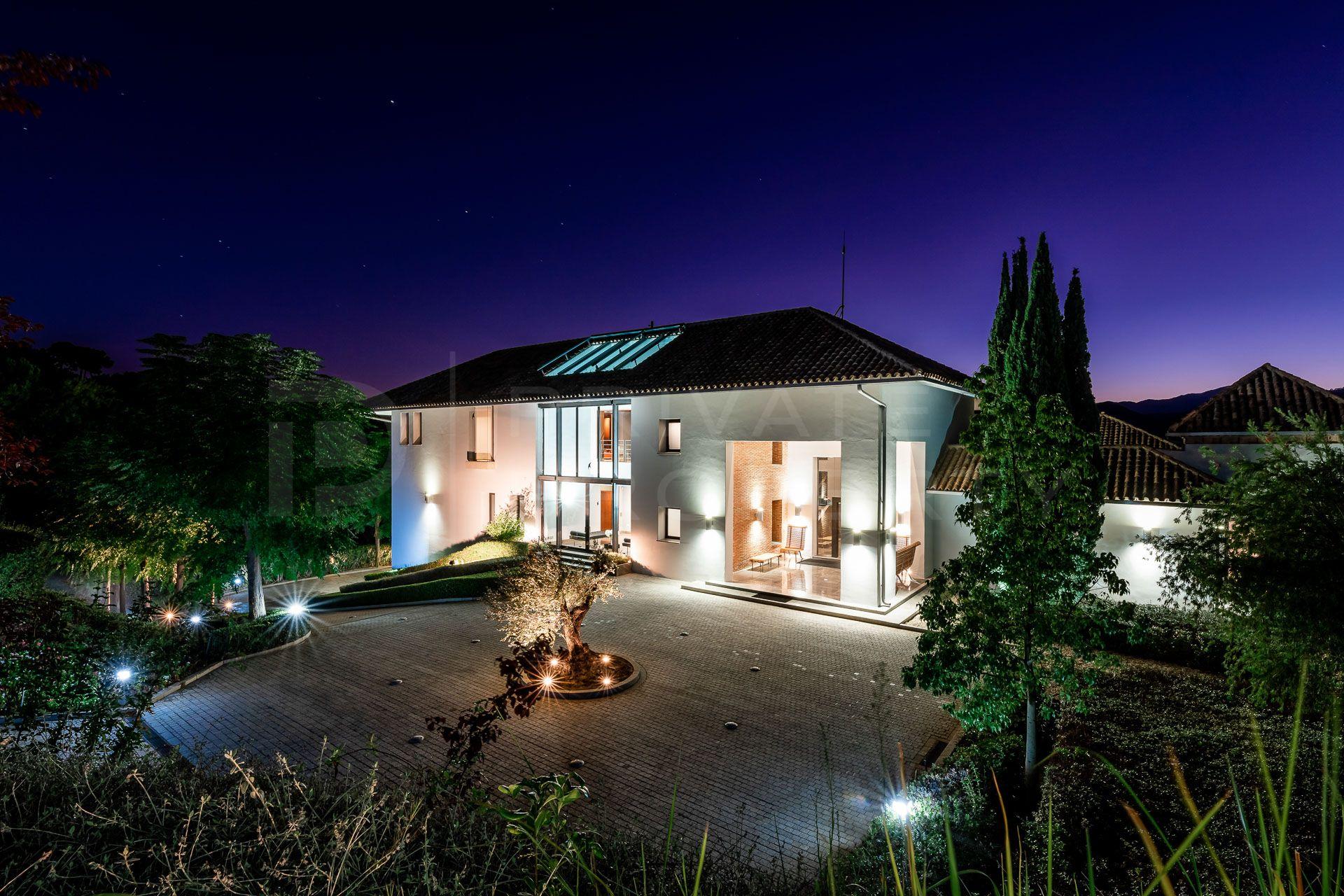 Unique villa in La Zagaleta