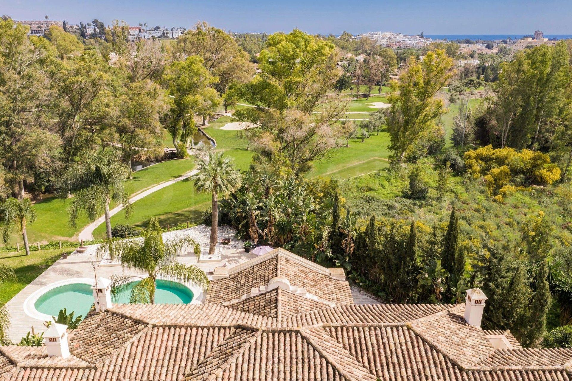 Frontline golf villa in La Cerquilla