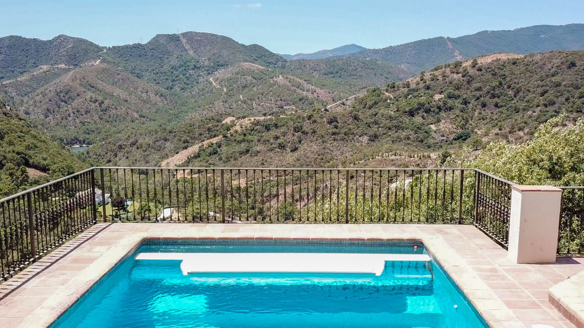 Stunning mountain views in La Zagaleta