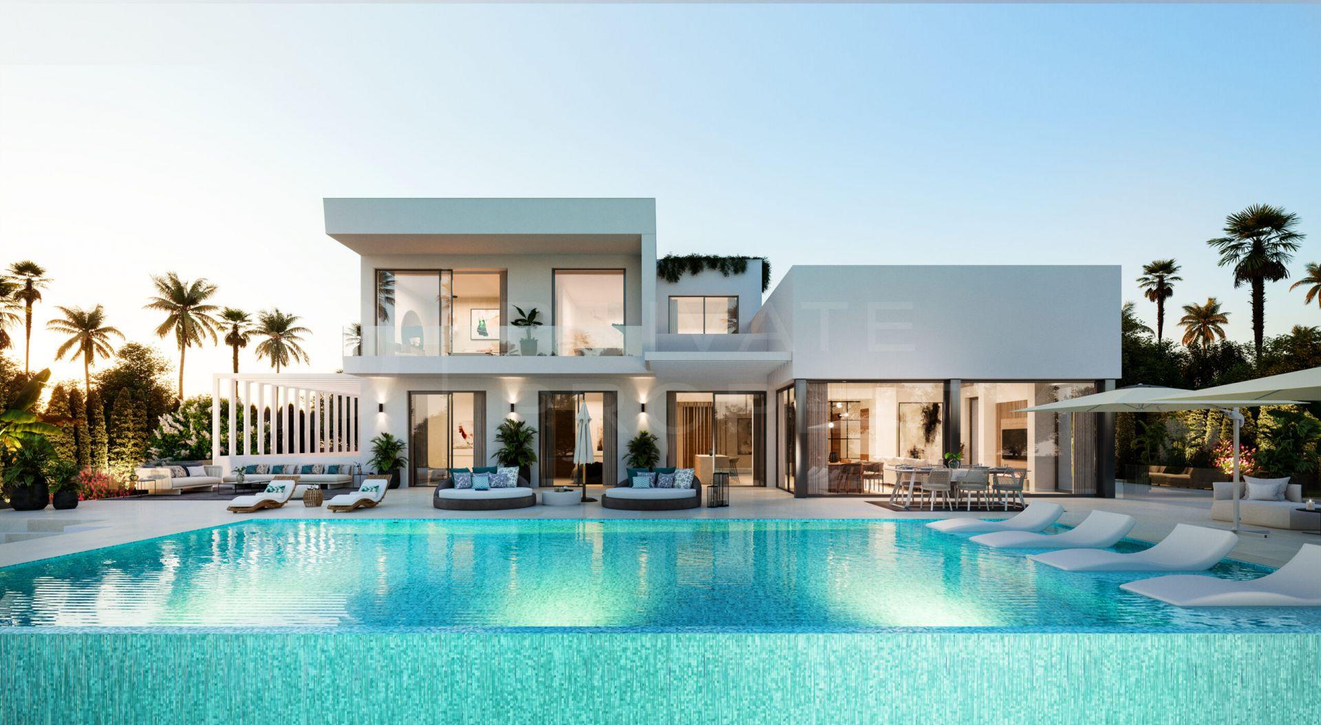 Contemporary villa in El Paraiso