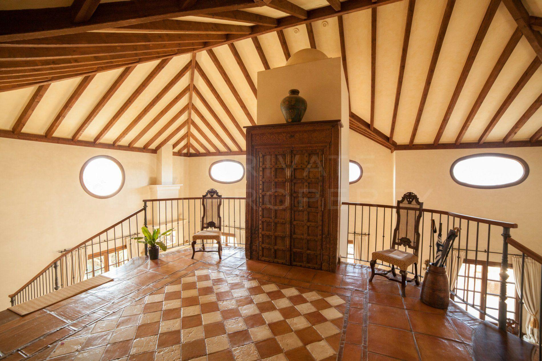 Andalucian style villa in La Zagaleta