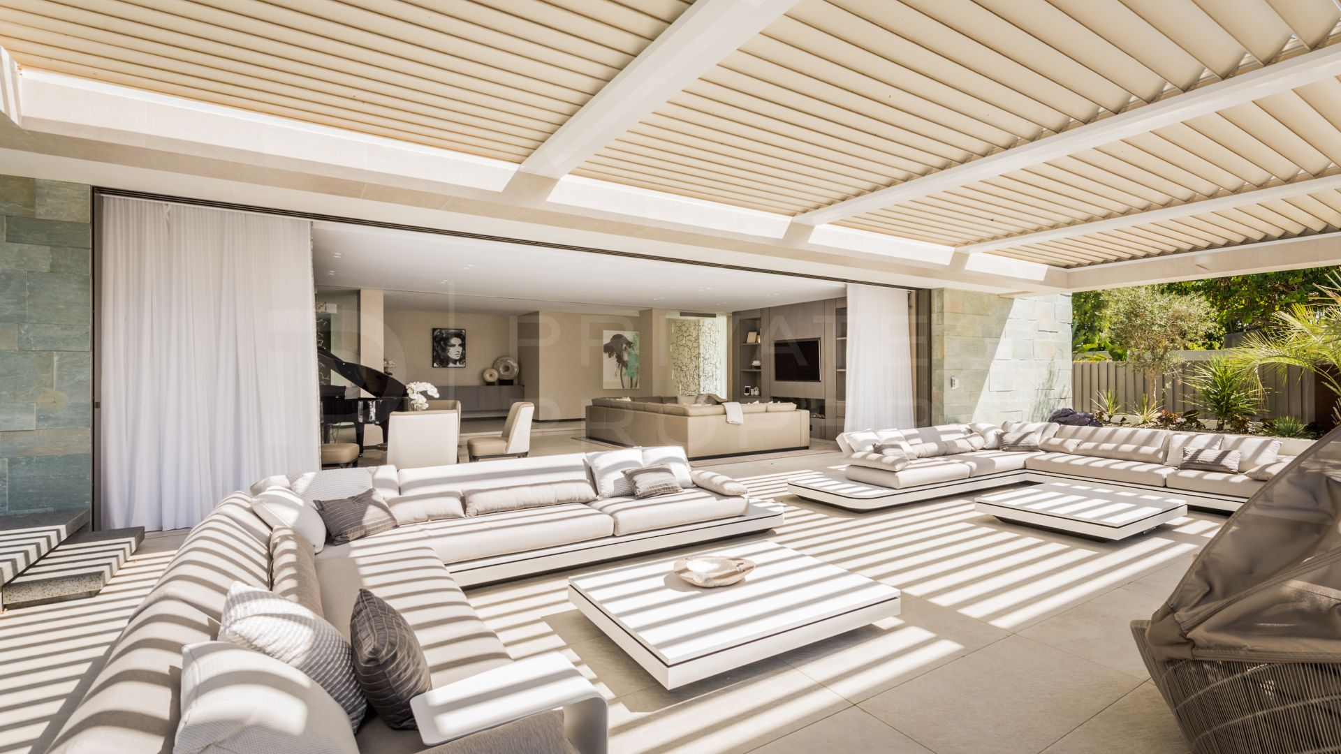 Villa for rent in the Marbella Club