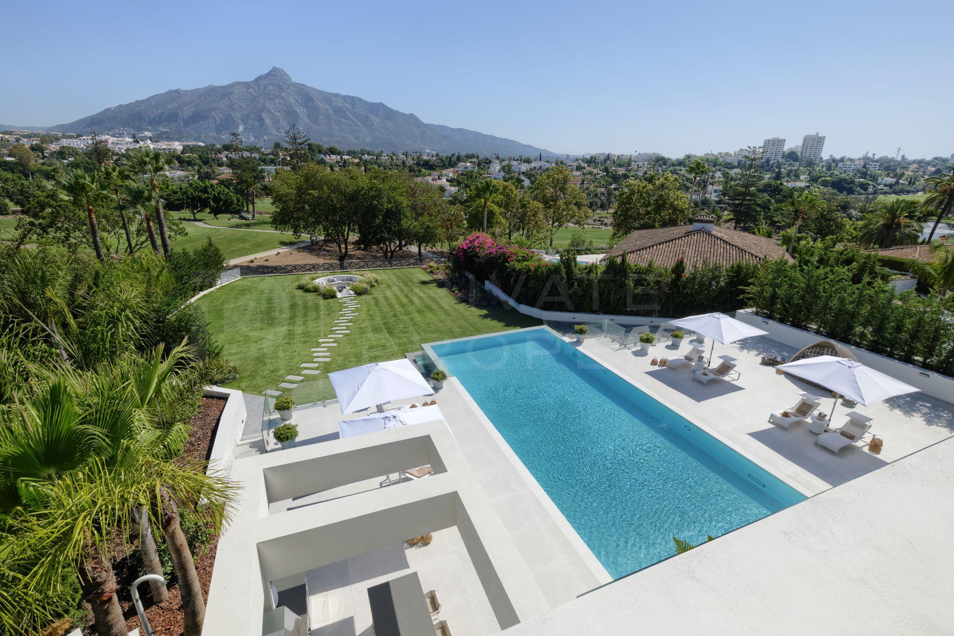 Front line golf villa in La Brisas