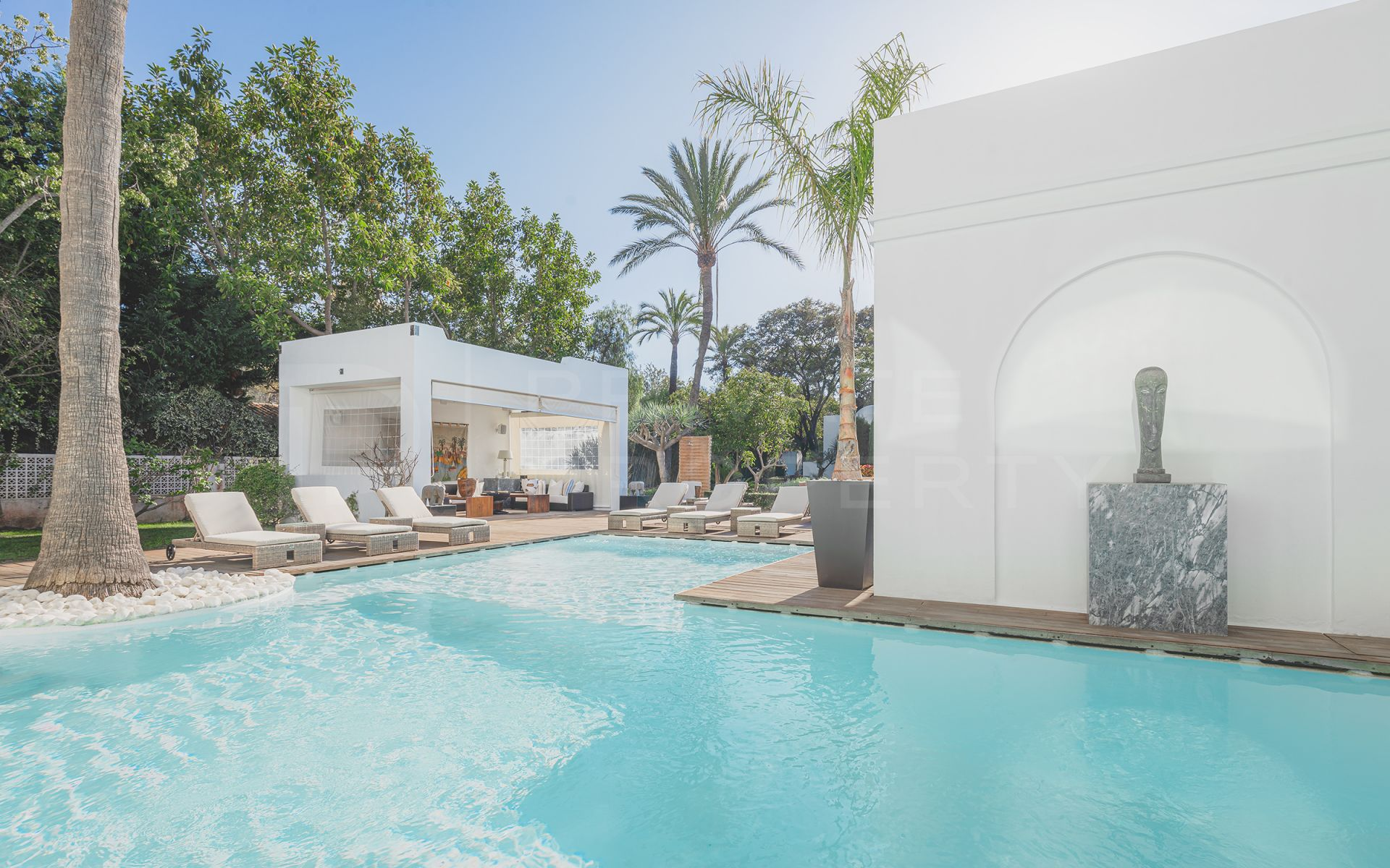 Beachside villa in Guadalmina Baja