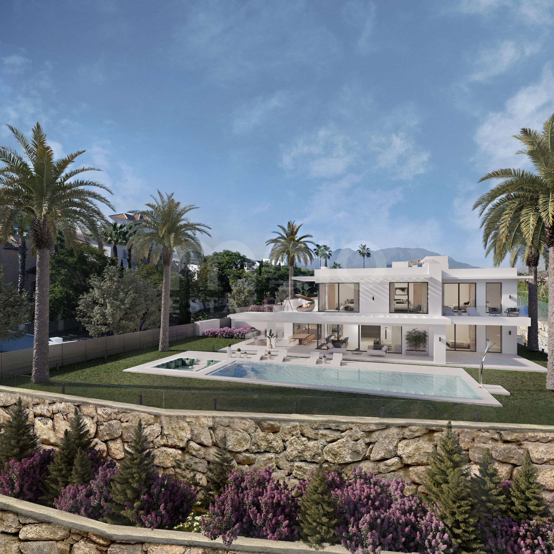 Villa till salu i Los Flamingos, Benahavis