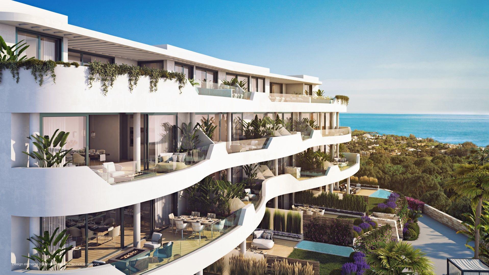 Higueron West, new property development in Benalmadena Costa, Benalmadena.