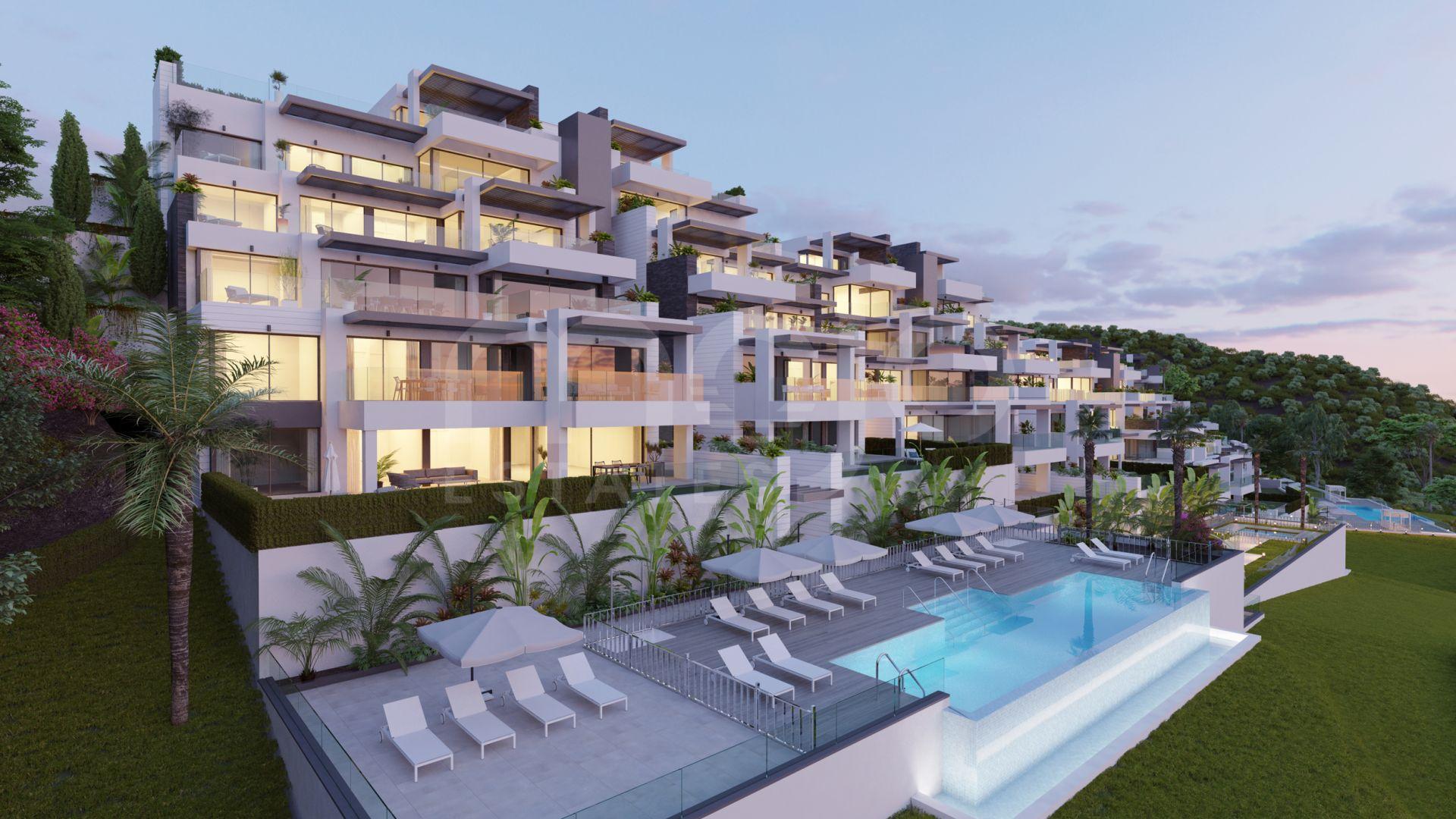 Aqualina Residences & Collection, luxury lifestyle in the privileged area of Las Colinas de Marbella in Benahavis