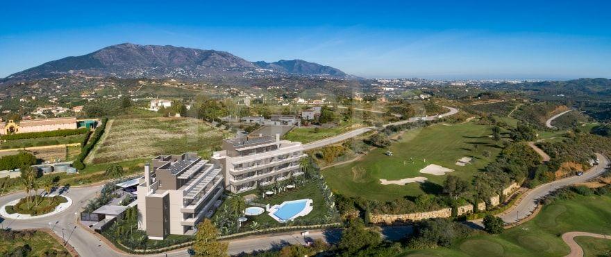 Sun Valley, bright apartments frontline golf in La Cala Golf Resort in Mijas.