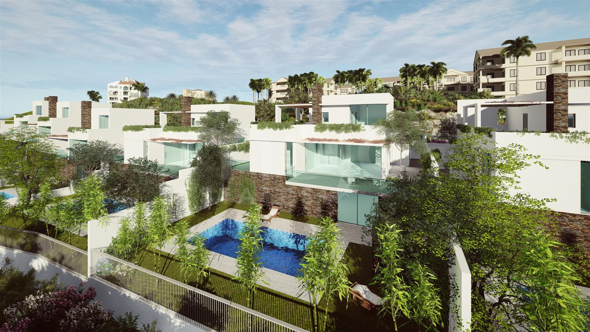 Fastighetsprojekt i Mijas Golf, Mijas Costa