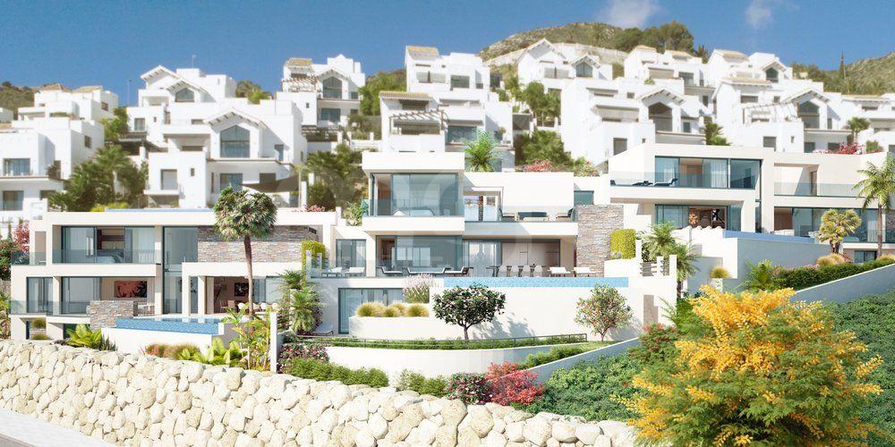 Retamar Santa Matilde, modern villas with stunning seaviews in Benalmádena
