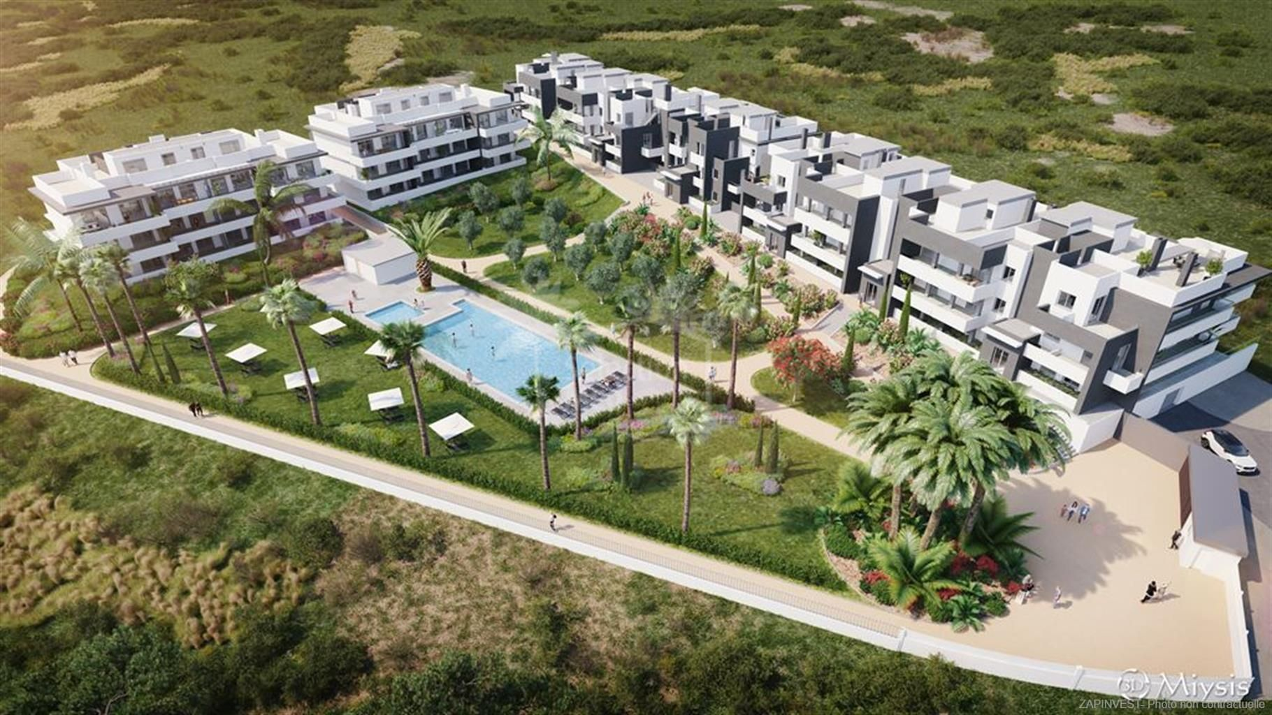 Development in La Galera, Estepona