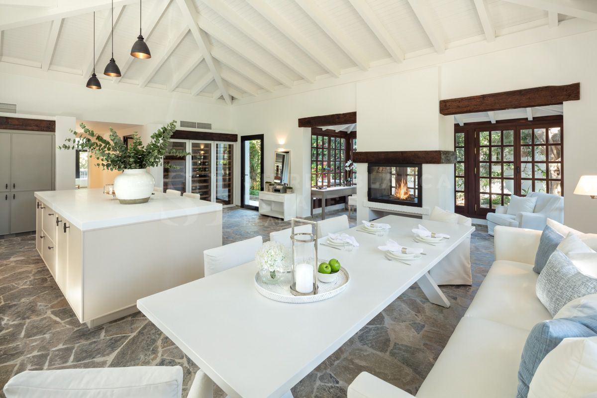 Encantadora villa de lujo en Nueva Andalucía
