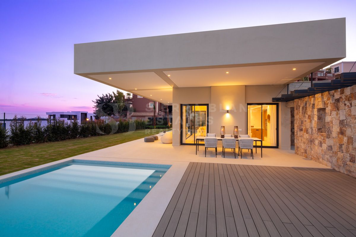 Spectacular brand new villa in Marbella's exclusive golf valley
