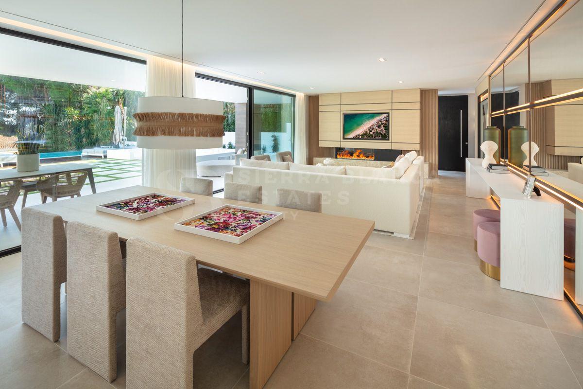 Villa Contemporánea con Vistas Panorámicas a la Concha