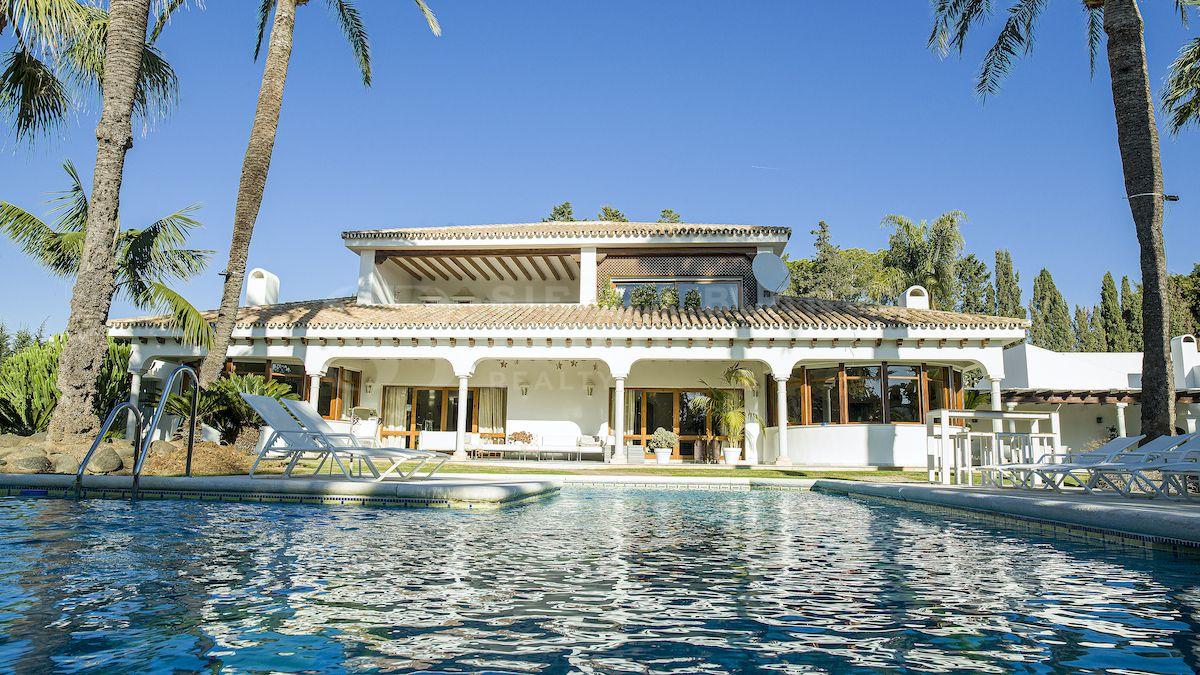 Clásica Villa en Guadalmina Baja