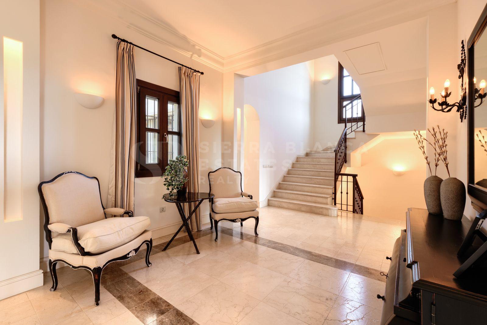 Villa sur Grand Terrain à Marbella Hill Club