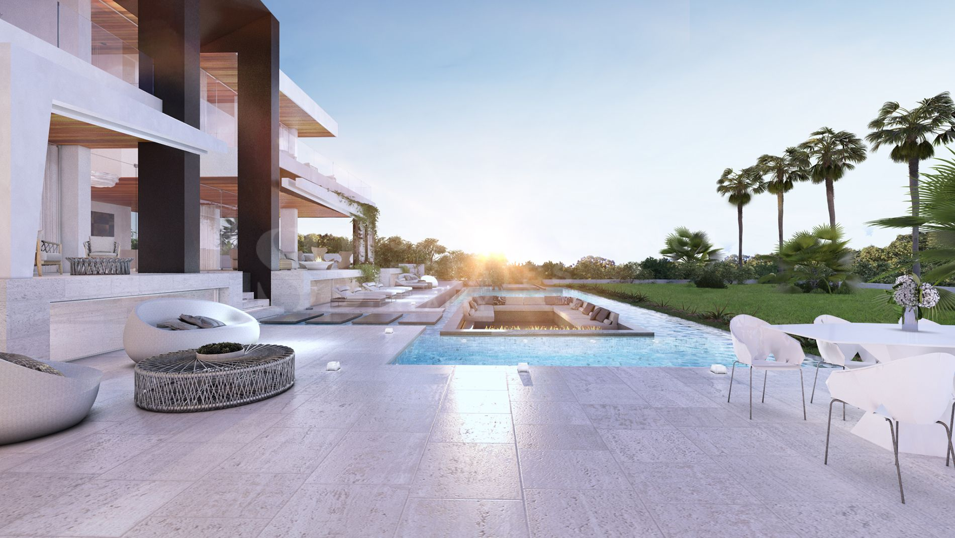 Luxurious Modern Villa Located in El Paraiso